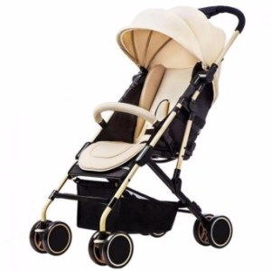 Baby Two-way Four-wheel Folding Aluminum Alloy Baby Stroller
