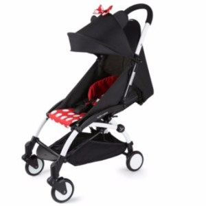 Babytime Foldable Pocket Stroller Minnie Polka