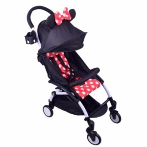 BM Stroller Mickey (Red)Foldable