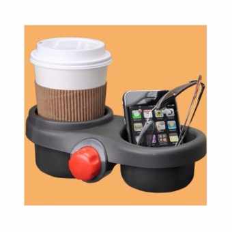 Brica The Pod Go Anywhere Drink And Gadget Holder