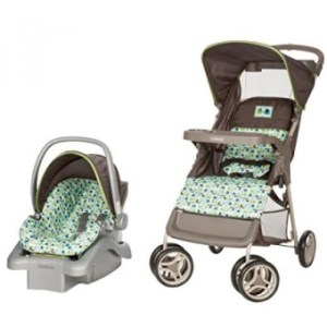 Cosco Lift & Stroll Travel System - Car Seat and Stroller - Suitable for Children Between 4 and 22 Pounds