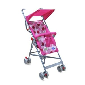 Enfant Baby Lightweight Umbrella Stroller (Pink)