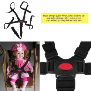 ERA Baby 5 Point Harness Safe Belt High Quality Dining ChairBandage Safety Belt - intl