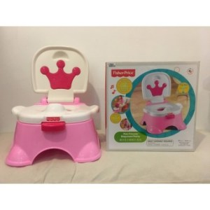 Fisher-Price Pink Princess Stepstool Potty