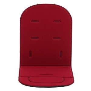 Four Seasons Stroller Pad Car Safety Seat (Wine Red)