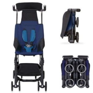 Goodbaby Pockit Travel Stroller (Seaport Blue)