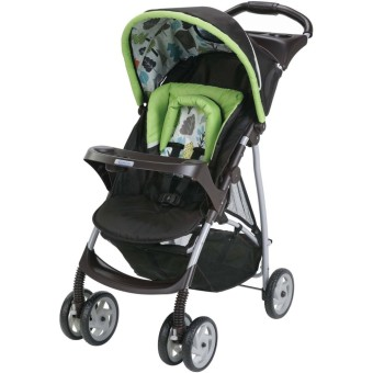 Graco Click Connect Literider Stroller Bear Trail - Baby ...