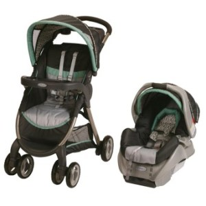 Graco Fastaction Fold Classic Connect Travel System