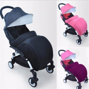 HengSong Universal Warm Baby Stroller Foot Muff Buggy PushchairPram Foot Cover (Pink) - intl