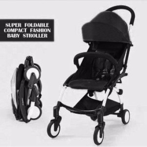 New 2017 best store baby shop foldable portable babystroller(Black)