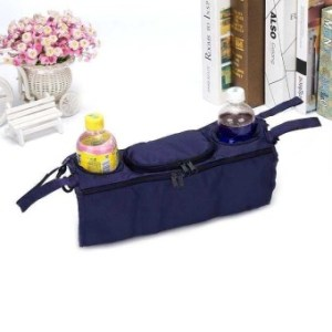 PAlight Baby Stroller Bag Accessories 3 in 1 Organizer InfantCarriage Cooler Wheel Hanging Bags Cart Bottle Holder - intl