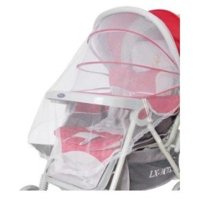 Summer Mesh Lace Edge Safe Baby Car Carriage Insect Mosquito Net Baby Stroller Cradle Bed Net