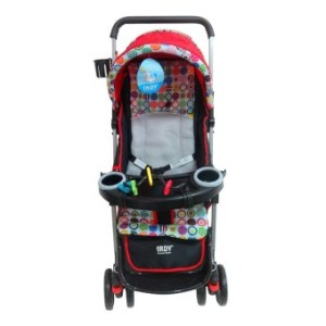 Toy Collections Irdy Reversible 3-Way Stroller (Red)