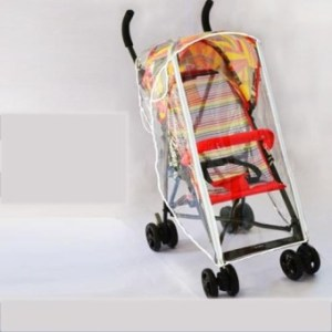 Universal Type Rain Proof Cover For Baby Carriage Wind CoverUmbrella Vehicle Raincoat Cover - intl