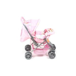 4002 Stroller with Musical Tray (Pink)