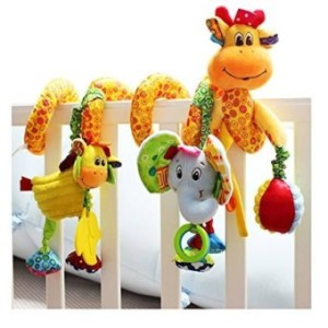 Babyprice Infant Baby Baby Wrap Around Crib Rail Or Stroller Toy- Stroller Toy- Bed Hanging Toys- Car Seat Toy