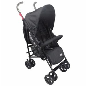 Brights Two Baby Stroller Umbrella Style (Black)