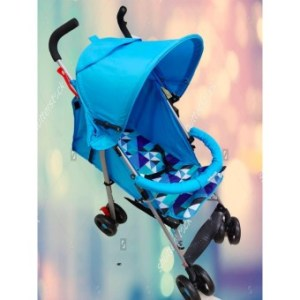 Deluxe Cute Umbrella Baby Stroller (Blue)