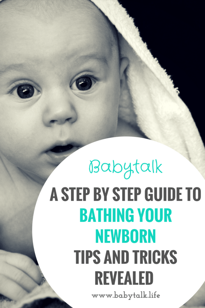 The ultimate step by step guide to bathing your baby. Written by a postpartum nurse!