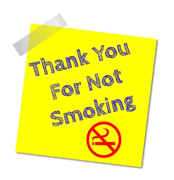 Don't Smoke While Pregnant