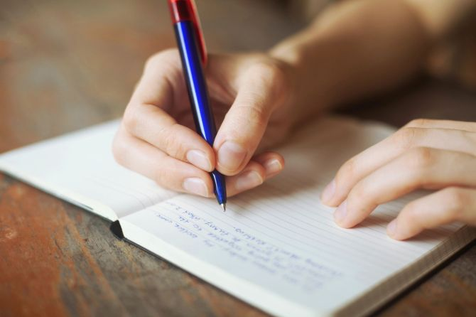 Journaling is a great way to help you ease some emotions and protect your postpartum mental health!