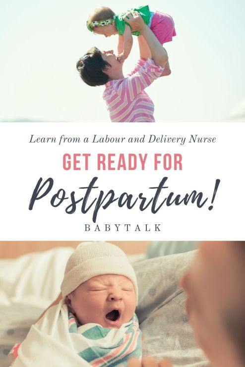 what to expect in the postpartum period