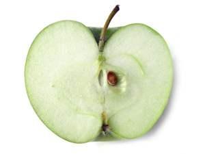 halve appel