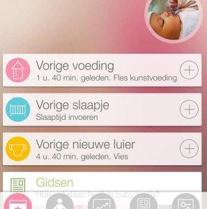 Baby+ handige app voor ouders