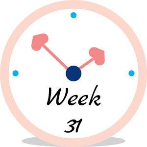 Zwangerschap week 31