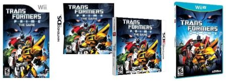 Transformers Prime  The Game for Nintendo Wii  DS  3DS  and Wii U