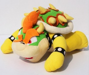 Mario plush toy koopa bowser