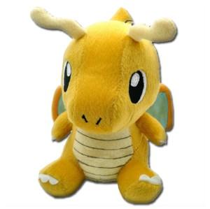 pokemon stuffed dragonite plush animal