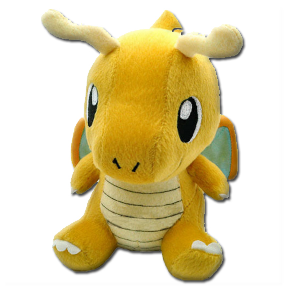 pokemon stuffed dragonite plush animal