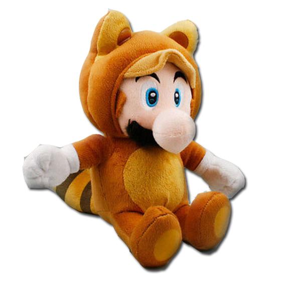 Mario Stuffed Animal Tanooki Mario