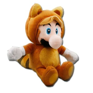 Mario Stuffed Animal Tanooki Mario