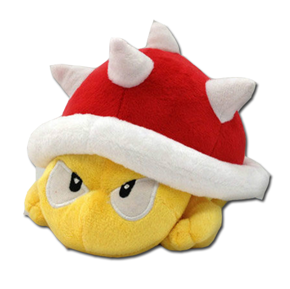 Super Mario Plush Toy Spiny Koopa
