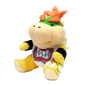 Super Mario plush toy bowser jr