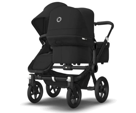 bugaboo donkey 2 mono stroller black color