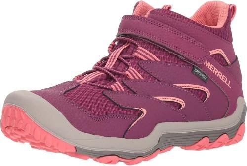merrell chameleon 7 waterproof shoe for kids