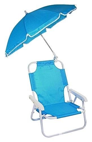 redmon beach baby umbrella chair isolated on white background