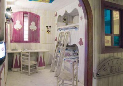 habitacion del circo
