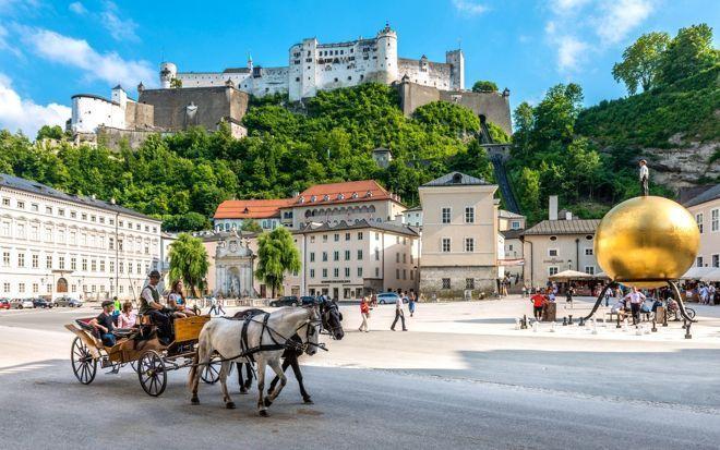 Salzburgo en familia