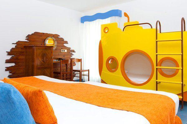 Las habitaciones temáticas de los hoteles playa senator: del oeste, del mar ..