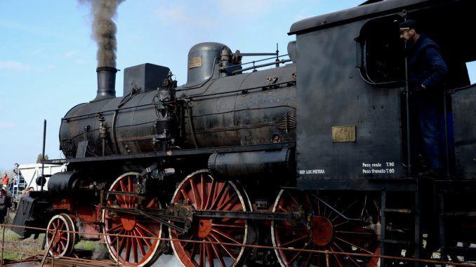 Tren de vapor de La Toscana