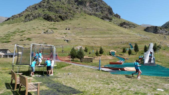 parque ludico Vall de nuria