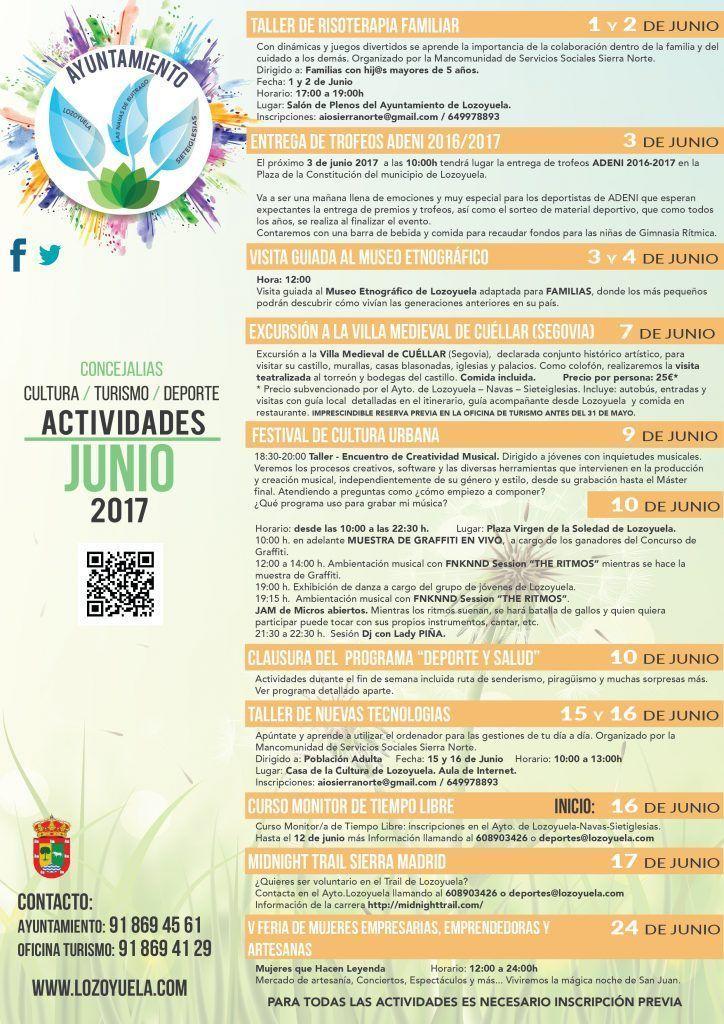 Actividades Lozoyuela