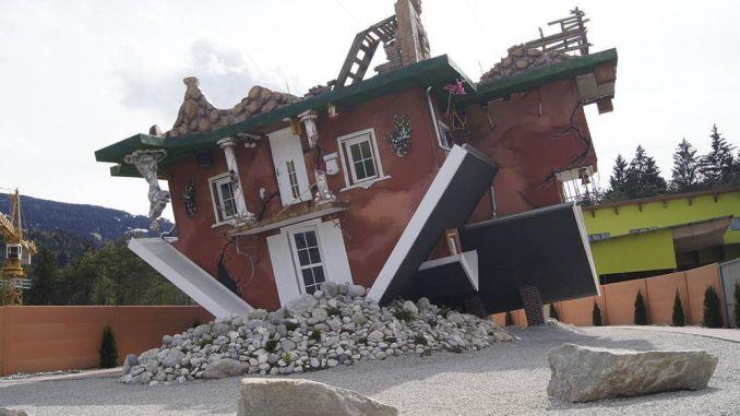 La casa del revés en Innsbruck