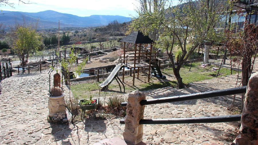 Casa rural con animales Sierra de Madrid La Tejera de Lozoya