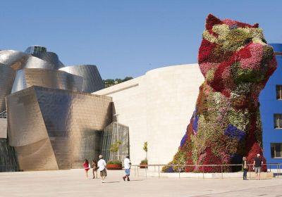 Puppy la mascota del Guggenheim