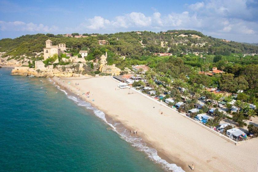 Camping de lujo a pie de playa tamarit park resort - Campings de lujo en espana ...